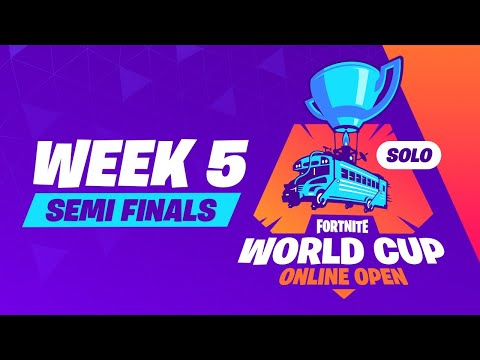 Fortnite World Cup - Week 5 Semi Finals