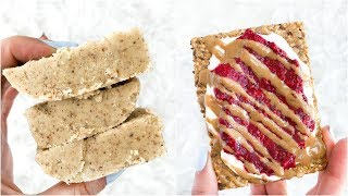 5 HEALTHY SNACK IDEAS! Easy , Vegan and Quick!