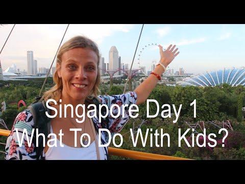 Family Travel to Singapore: Aqua Park, Sharks and Greatest Food