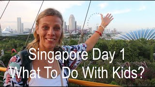 Family Travel to Singapore: Aqua Park, Sharks and Greatest Food