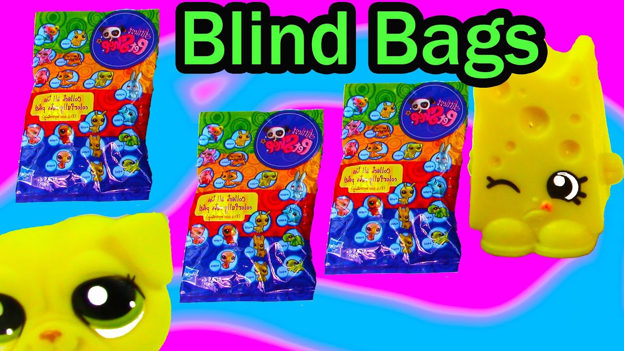 Lps Shopkins Colorfully Cute Blind Bag Mystery Littlest