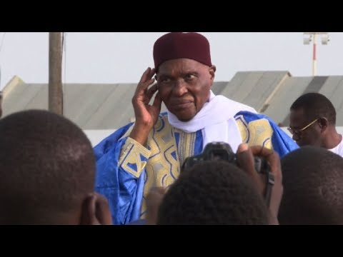 Senegal: Abdoulaye Wade arrives in Dakar