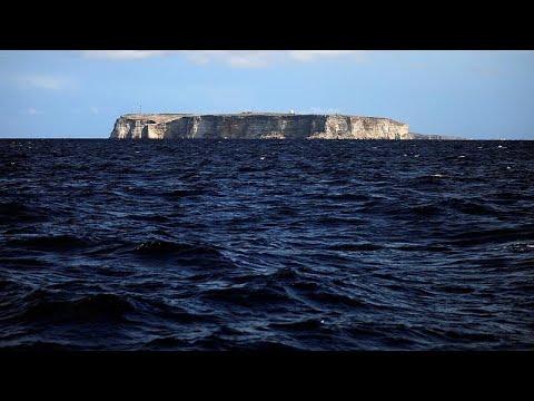 Italien Karte Lampedusa.Migranten Verandern Lampedusa