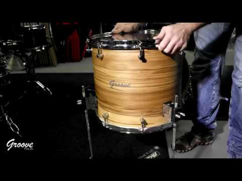 Manic Hardware Suspension System on Groove Drum Co.'s Drums