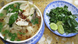 How To Cook Fish Soup With Lemongrass and Mushroom