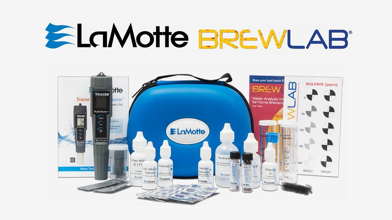 lamotte brewlab water test kits youtube