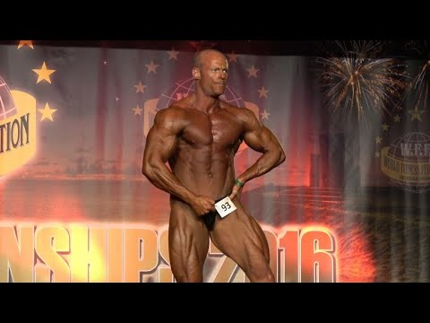 Wesley Saunders– Competitor No 93 - Men Athletic - WFF World Championship 2016