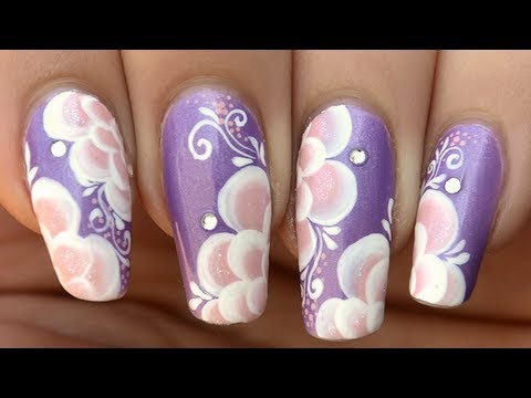 Nail Art Design One Stroke The Best Inspiration For Design And