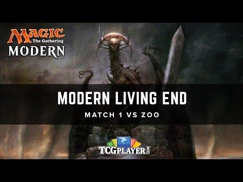 MTG Modern Living End  Match 1 VS Zoo