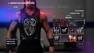WWE 2K18 Roman Reigns NEW WWE SummerSlam 2018 Vest Attire