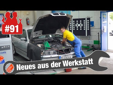 Diagnose: Radlager-Geräusch beim Opel und Leerlauf-Probleme beim BMW