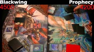 Yugioh Duel: Prophecy vs Blackwing - Round 2