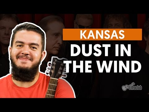 Dust in the Wind - Kansas (aula de violão completa)