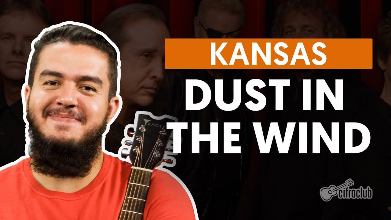 Dust in the Wind - Kansas (aula de violão completa)