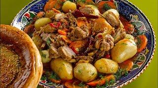Фото Лазурное 2019. Узбекская кухня..Готовим вместе.
