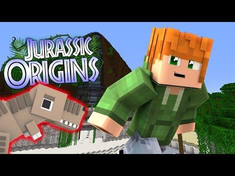 GETTING A DINO!!!   Jurassic World Orgins   EP4 (Jurassic World Minecraft Roleplay RPG)