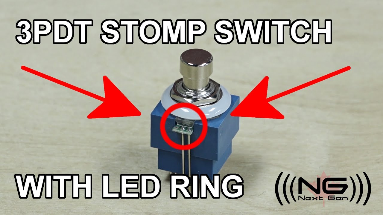 Inside Out 3pdt Stomp Switch With Led Ring Youtube Box Wiring Diagram