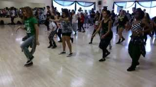 Chachi's class, Brain Bangin Dance Intensive