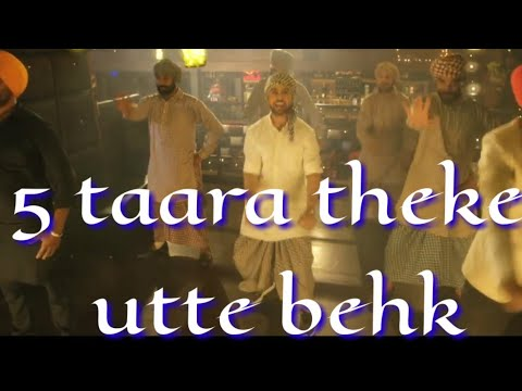5 TAARA LYRICS – Diljit Dosanjh (Punjabi Breakup Song), WhatsApp status video song with lyrics