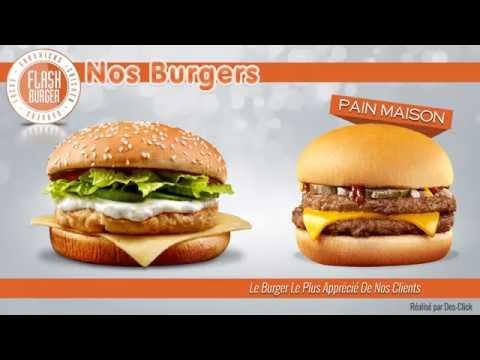 Flash Burger Animation