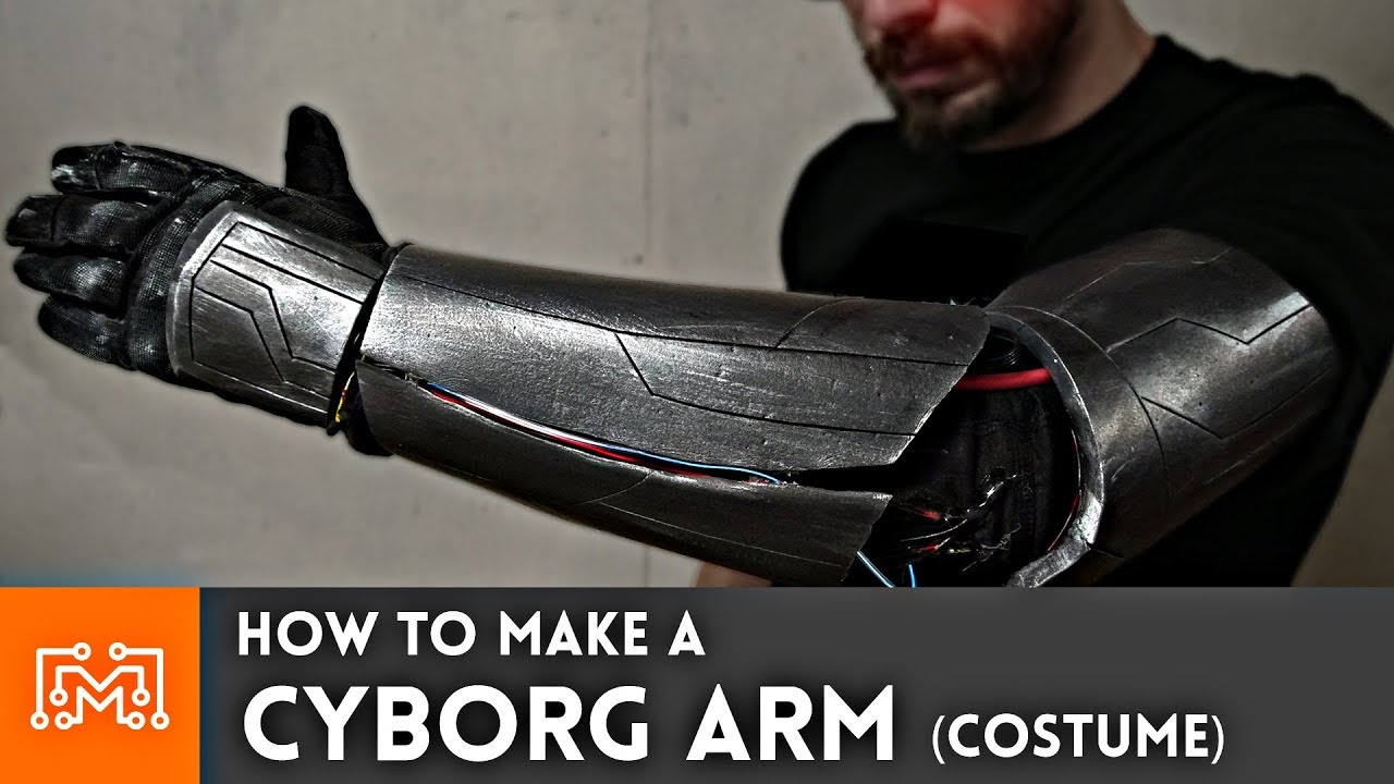 Cyborg Arm (Cosplay/Halloween Costume How To) - YouTube