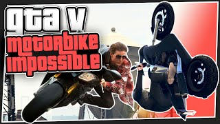 GTA 5 Online -   Motorbike Impossible (GTA V Custom Games)