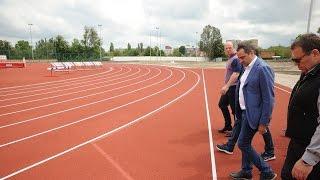 Андрій Павелко відкрив дитячий майданчик та проінспектував стадіон