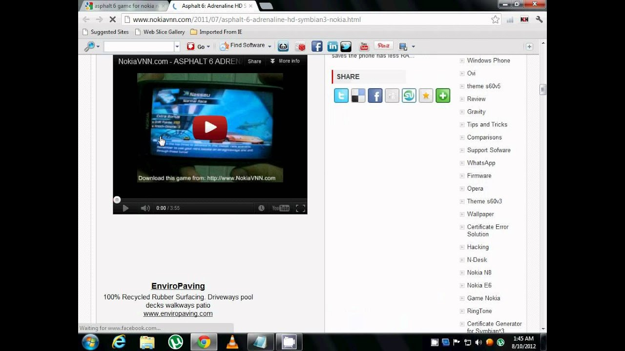 Nokia x7 00 software - How To Download Asphalt 6 Game For Nokia N8 E7 X7 C7 With Download Link Youtube