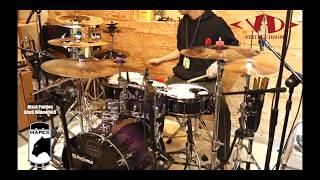 MAPEX Black Panther Black Widow Snare Drum 14x5 sound sample