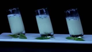 Food Porn - Shot di cioccolato bianco alle 3 erbe