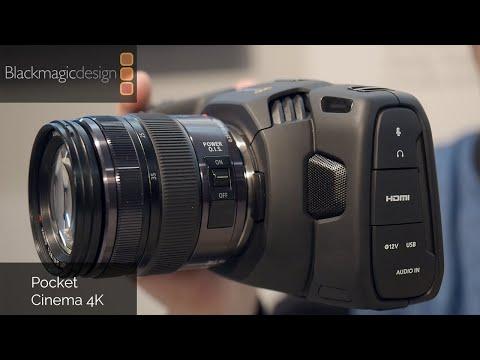 New Black Magic 4K Pocket Cinema Camera - NAB Show 2018