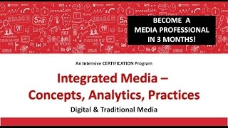 Integrated Media - Concepts, Analytics, Practices
