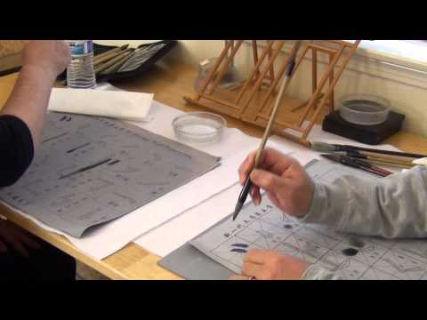 Henry Li's Live Workshop: the 4 Virtues of Chinese Brush vs Watercolor Brushes