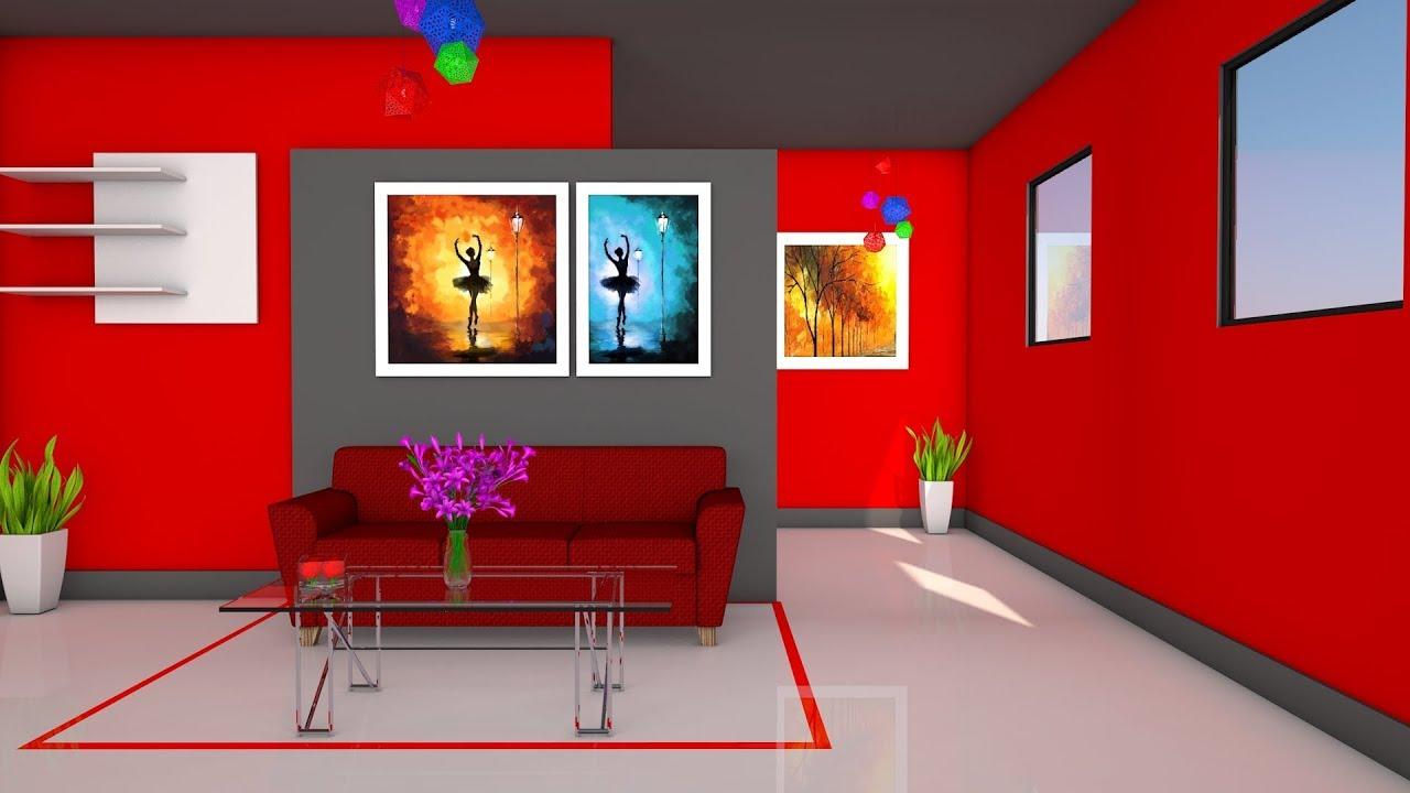 cinema 4d tutorial room interior design youtube. Black Bedroom Furniture Sets. Home Design Ideas