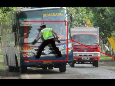 Wow!!! Beginilah Kelakuan Supir Bus di Indonesia yang Kadang Bisa...