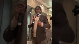 Jay Naidoo speaks with the heart to a room full of big shots.