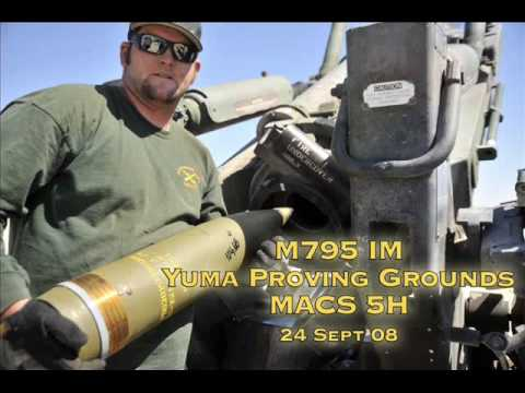 IMX-101 explosive in action at Yuma Proving Grounds