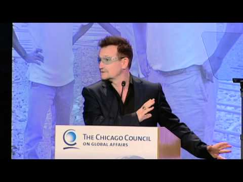 Address by Bono at The Chicago Council's Global Agriculture and Food Security Symposium