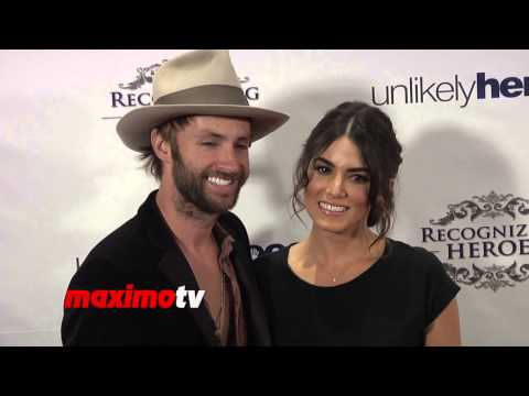 "Nikki Reed and Paul McDonald - ""Recognizing Heroes Awards"" Dinner & Gala - Red Carpet Fashion"