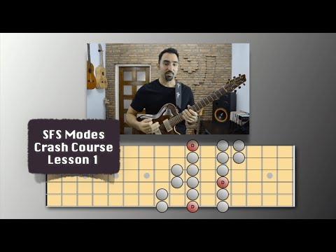 SCALES vs MODES - Learn the real difference! (Guitar Lessons) @EffectiveMusicPractice