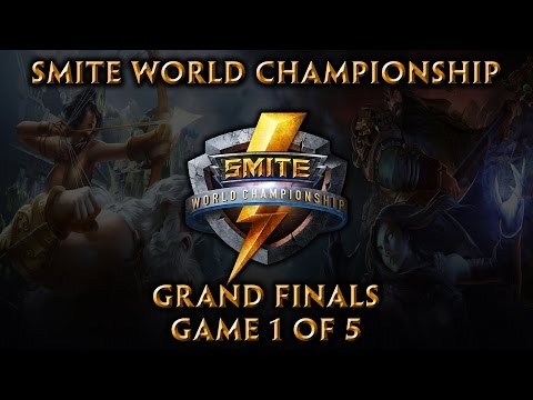 Smite World Championship: Grand Finals (Game 1 of 5)