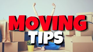 Things to consider when MOVING | Moving day TIPS ✨