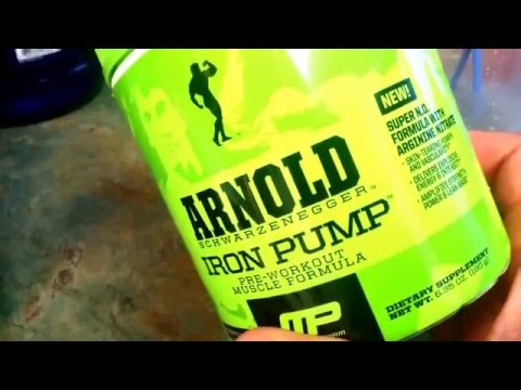Arnold Schwarzenegger Iron Pump Pre Workout