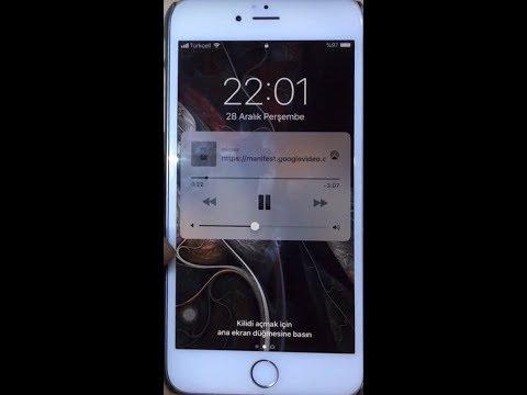 iPhone Arka Planda Youtube Müzik Dinleme