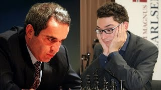 Шахматы. Фабиано Каруана против Гарри Каспарова: Молодость против Опыта!
