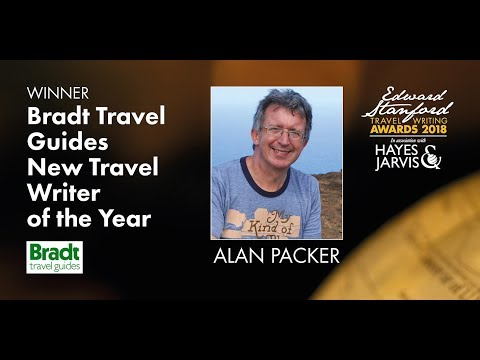 Edward Stanford Travel Writing Awards 2018: Bradt Travel Guides New Travel Writer of the Year