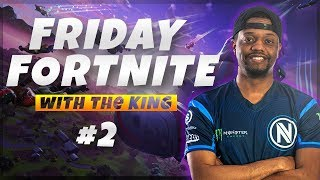 KingRichard KEEMSTAR Friday Fortnite Highights w/aimbotcalvin #2