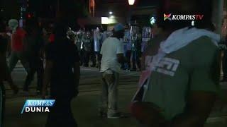 Polisi Tangkap 80 Orang terkait Demo Anti-Rasisme