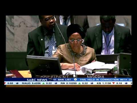 Dr Margaret Chan addresses UN Security council on Ebola