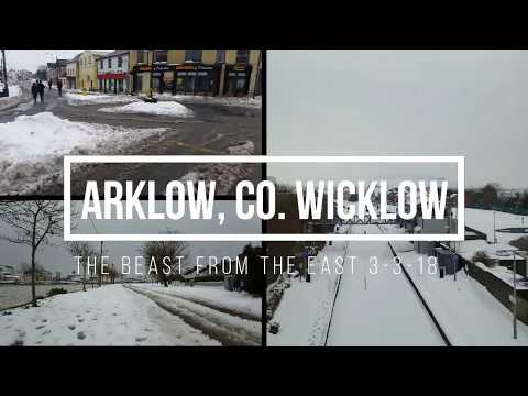 The Beast From The East - Arklow - Snow Storm - Mar. '18